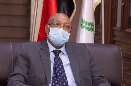 وزير الصحة الاتحادي الدكتور عمر محمد النجيب
