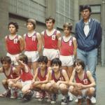 1980-81. Maristas El Salvador benjamín (a)