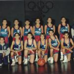 1987-88. Maristas mini subcampeón liga