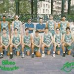 1994-95 Bilbao Patronato liga EBA. Felicitación