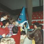 1995-96 EBA Bilbao Patronato. Sirimiri, mascota