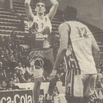 19960204 Egin EBA jugador LARSON. RUSSELL ELLIS