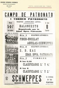 19701001 Cartel I Torneo Patronato