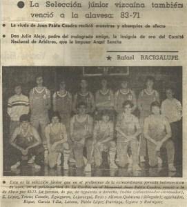 19811200 selección vizcaína junior
