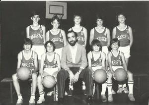1978-79. Maristas alevín 1978-79 subcampeón liga, campeón copa