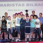 2015-16 Maristas Mini Rendimiento Campeón