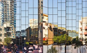 FINAL IMAGE: City Reflection Abstract