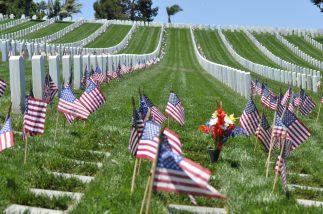 Ben Radhakrishnan - Rosecrans Cemetery on Memorial Day