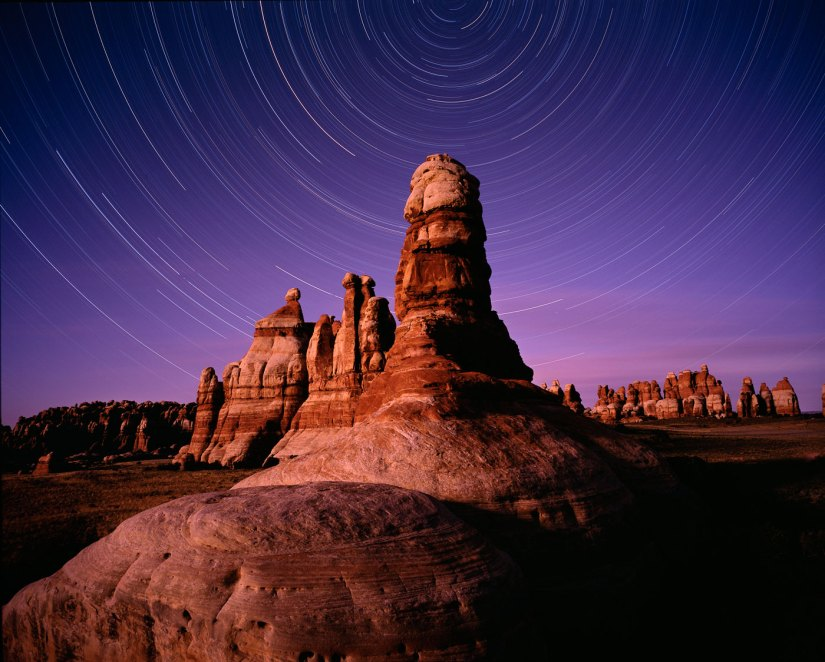 Canyonlands Star Trails (C) Brian Wright Photography