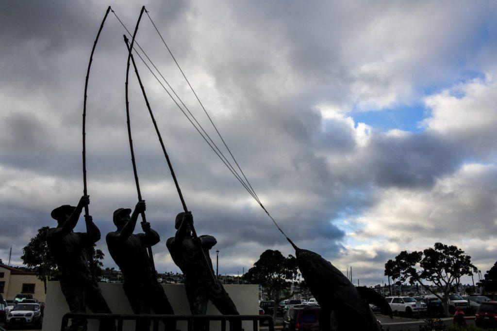 Randy Siegel - Anglers Statue