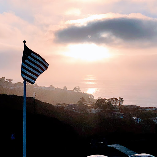 Ricardo Jackiewicz - Flag in Point Loma