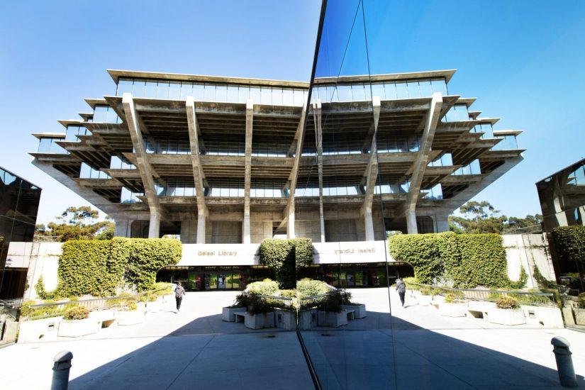 Dan Bucko - Mirror UCSD Geisel Library