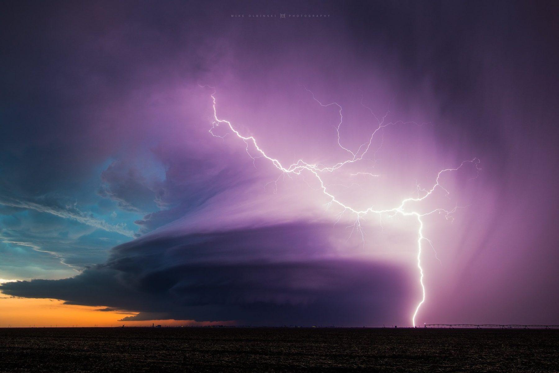Sublette lightning