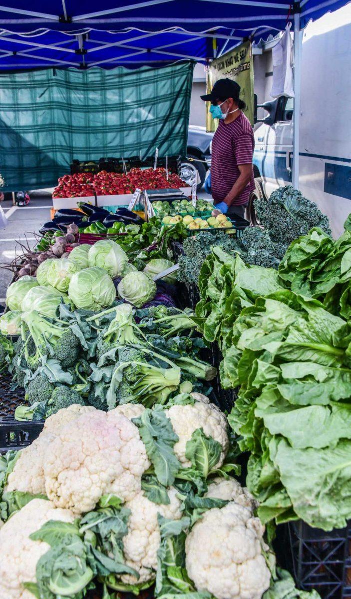 Randy Siegel - Fresh produce at Farmer's Market