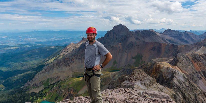 Mountain photographer Matt Payne
