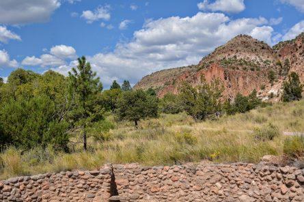 Remaining walls of the Big Kiva