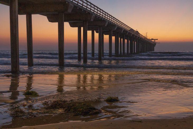 Barbara Whitman - LJ OceanInstiPier North Side Sunset