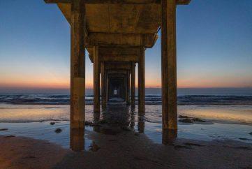 Barbara Whitman - LJ OceanInstiPier Sunset