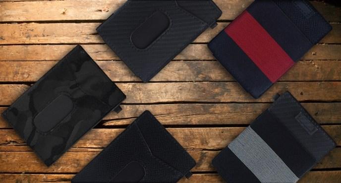 x-flex slim wallet WOOD 2