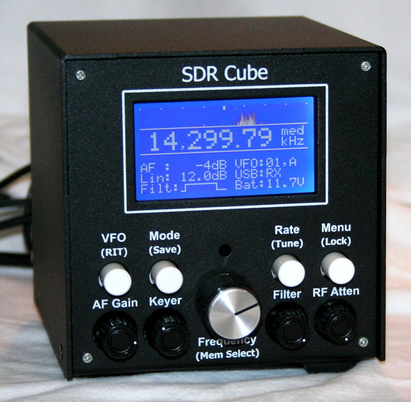 SDR-Cube Production Prototype