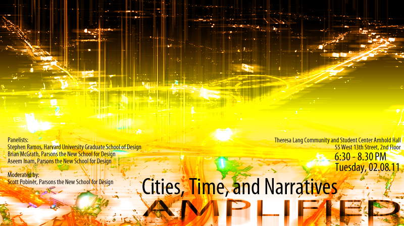 Cities, Time, and Narratives AMPLIFIED