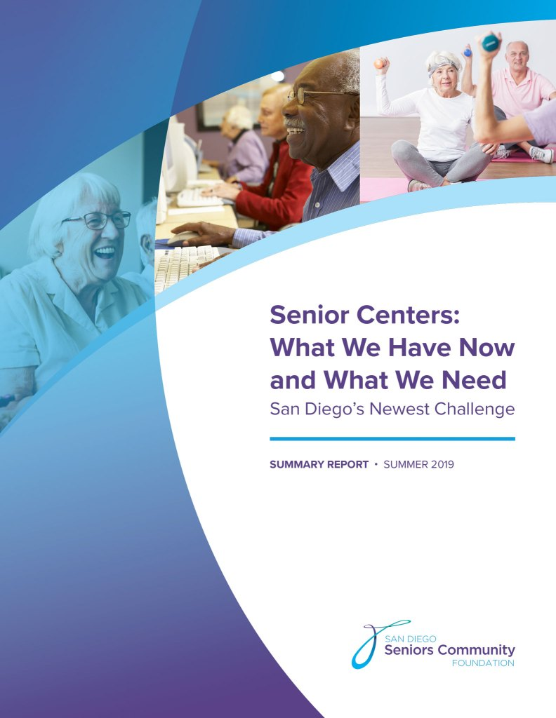 Senior Centers: What We Have Now and What We Need