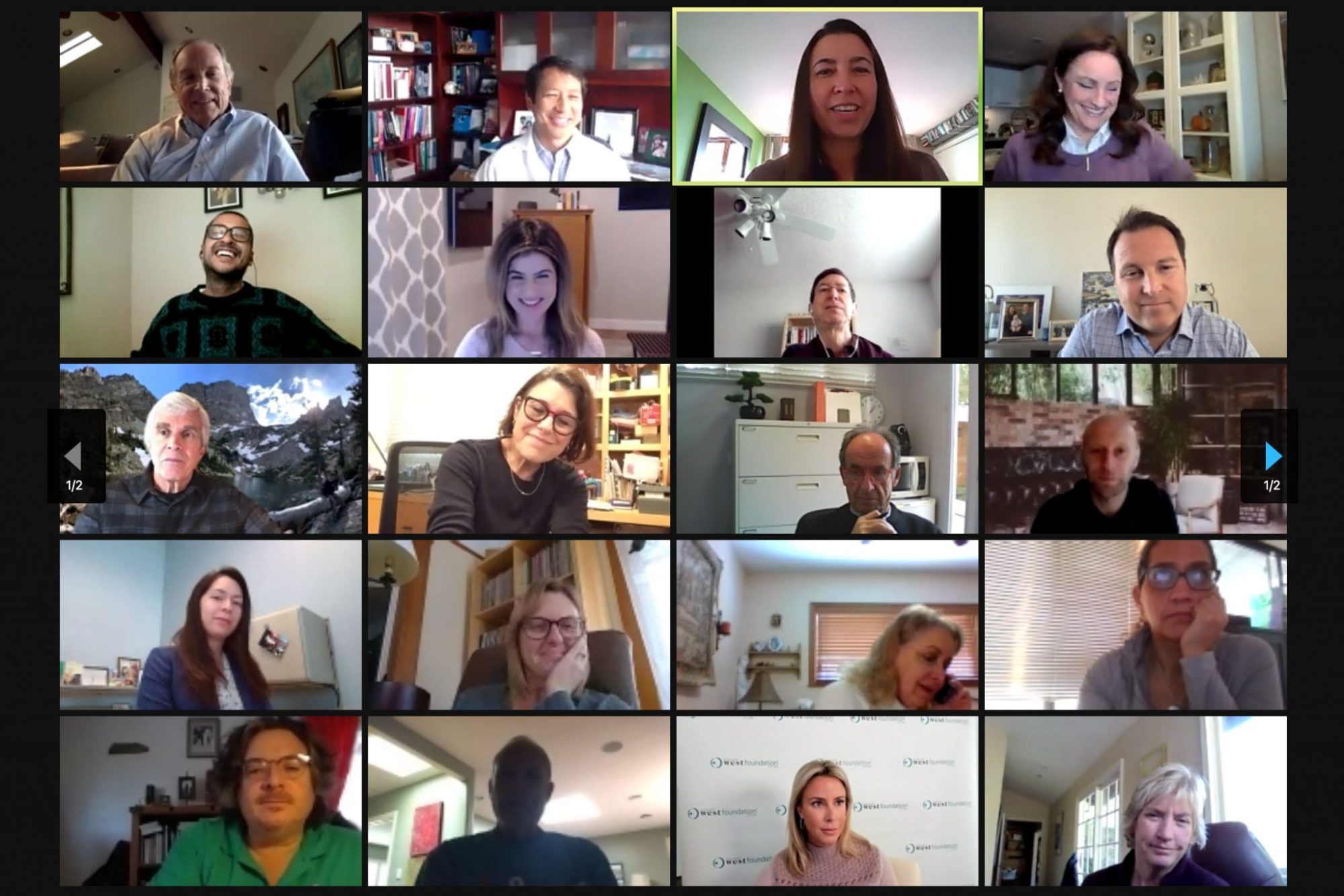 Funders convened via Zoom to hear experts discuss the relationship between social isolation, health and homelessness
