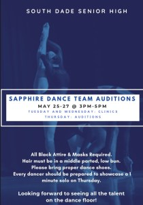 Sapphire Dance Auditions