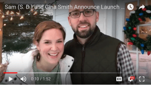 Sam (S. D.) and Gina Smith Announce Launch Dates for Ember Rising: The Green Ember Book III!