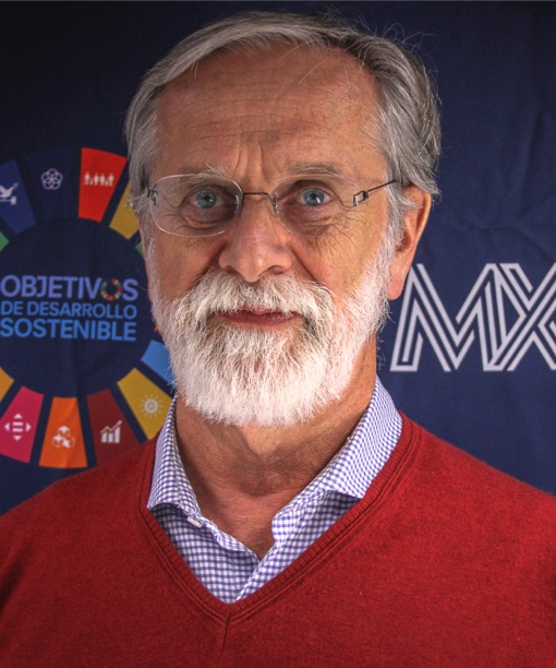 Foto de José Manuel Saniger Blesa, Coordinador de la Red MX2030, UNAM, SDSN México