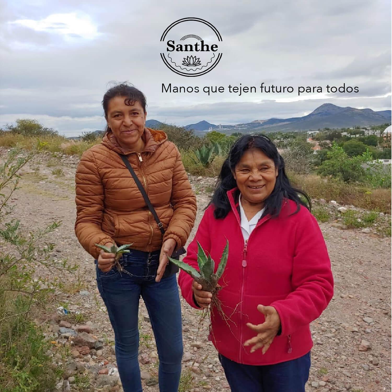 Santhe, manos que tejen futuro para todos