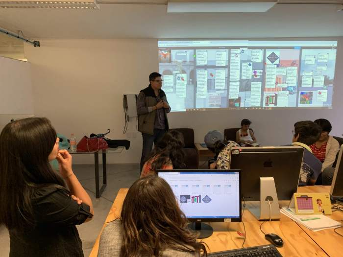 Aula del futuro: espacio interactivo, enriquecido con el uso de las TIC