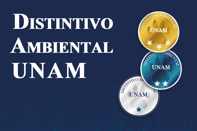 Distintivo Ambiental UNAM portada