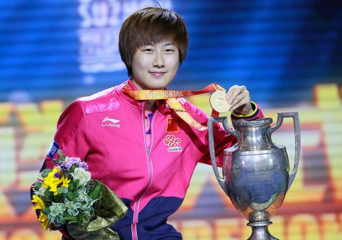 Ding Ning - photo by the ITTF