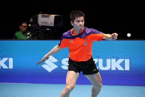 Fan Zhendong - photo by the ITTF