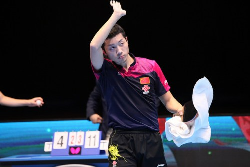 Xu Xin - photo by the ITTF