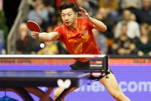 Ma Long - photo by Holger Straede