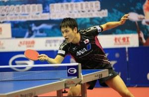 "yuya oshima - photo provided ""courtesy of the ITTF"""