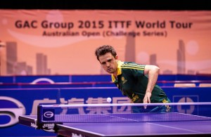 William Henzell - photo by the ITTF