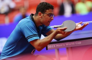 Omar Assar - photo by the ITTF