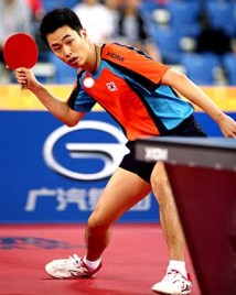 Joo Saehyuk - photo by the ITTF