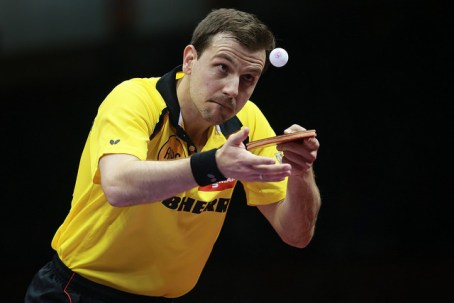 Timo Boll - photo by the ITTF