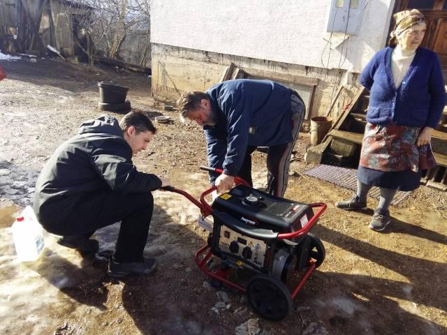Donirani agregati kao privremeno riješenje porodicama bez struje