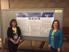 Dr. Polly Hulme and Janice Conlee