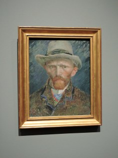 Self-Portrait of Van Gogh in Rijksmuseum