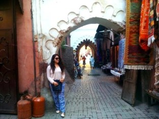 This is a typical street located in the shopping area in Marrakesh. I loved the streets full of color and culture.