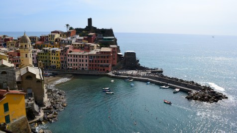 And we made it! Vernazza was a very cute village to spend the day in after a nice hike.