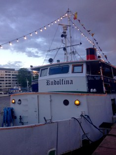 For our last day as a group, we boarded Rudolfina and took to the sea. On the dinner cruise we enjoyed delicious food, unforgettable sights, and great company.