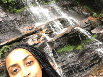 Eyebrows and waterfalls