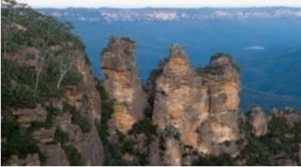 The famous three sisters.